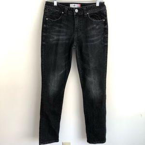 CAbi Smolder High Straight jeans